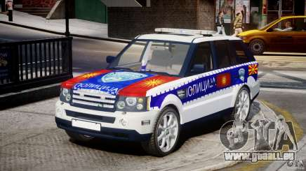 Range Rover Macedonian Police [ELS] pour GTA 4