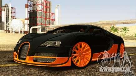 Bugatti Veyron SuperSport pour GTA San Andreas
