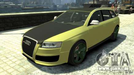 Audi RS6 Avant 2010 Carbon Edition für GTA 4