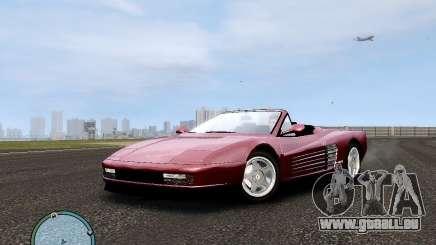 Ferrari Testarossa pour GTA 4