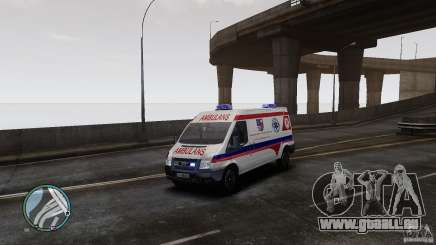 Ford Transit Ambulance pour GTA 4