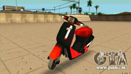 Honda Tact af09 für GTA San Andreas