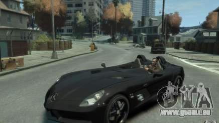 Mercedes Benz SLR McLaren Stirling Moss 2010 EPM pour GTA 4