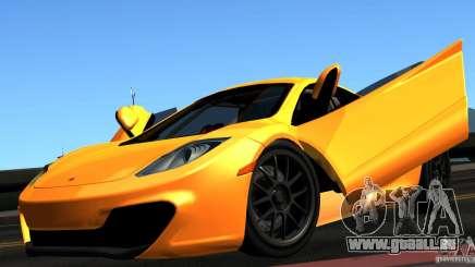 McLaren MP4-12C TT Black Revel pour GTA San Andreas