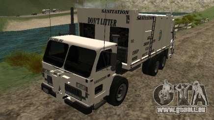Müllwagen aus GTA 4 für GTA San Andreas