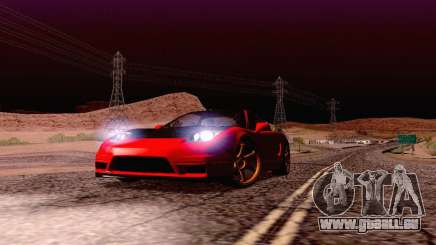 Acura NSX Stance Works pour GTA San Andreas