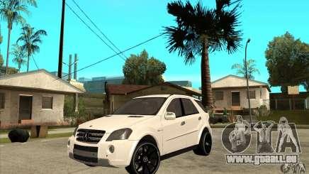 Mercedes-Benz ML 63 pour GTA San Andreas