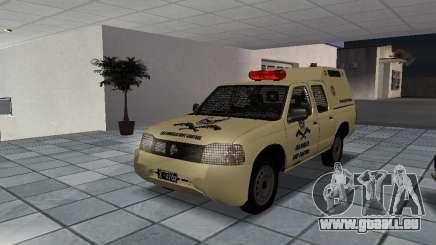 Nissan Terrano LARC pour GTA San Andreas