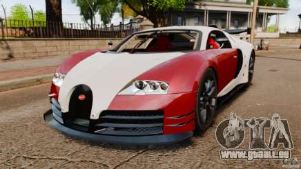 Bugatti Veyron 16.4 Body Kit Final Stock pour GTA 4