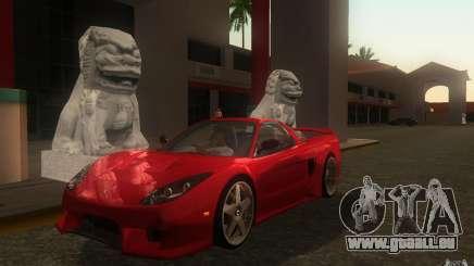 Honda NSX VeilSide Fortune für GTA San Andreas