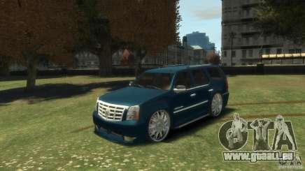 Cadillac Escalade Dub pour GTA 4