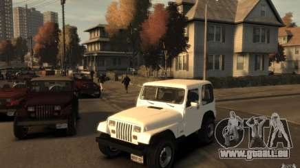Jeep Wrangler 1986 pour GTA 4