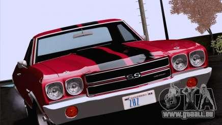Chevrolet El Camino SS 70 Fixed Version für GTA San Andreas
