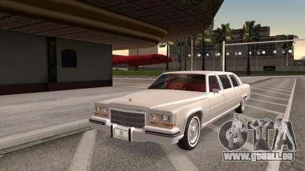 Cadillac Fleetwood Limousine 1985 pour GTA San Andreas