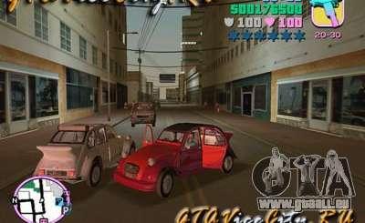 Citroen 2CV spoiler für GTA Vice City