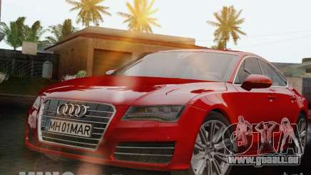 Audi A7 Sportback 2010 pour GTA San Andreas