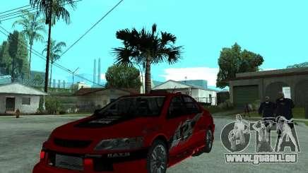 Mitsubishi Lancer Evo IX MR Edition für GTA San Andreas