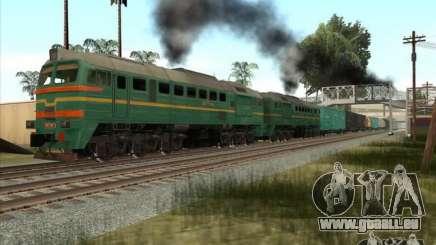 Chemin de fer d'États baltes locomotive fret photo-1184 pour GTA San Andreas