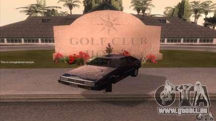 Isuzu Piazza für GTA San Andreas