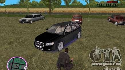 Audi A4 avant 3.2 QUATTRO pour GTA Vice City