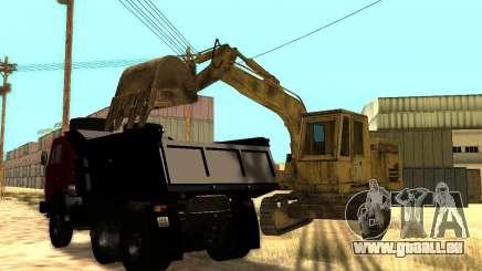 Bagger für GTA San Andreas