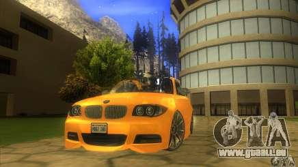BMW 135i Coupe Custom für GTA San Andreas
