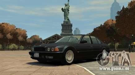 BMW 750i (E38) 1998 pour GTA 4