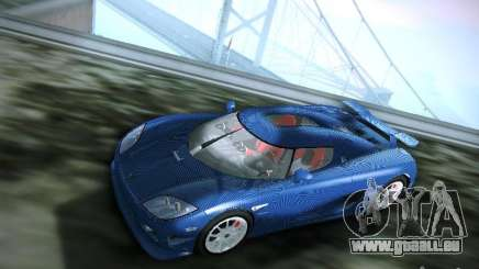 Koenigsegg CCXR Edition für GTA San Andreas