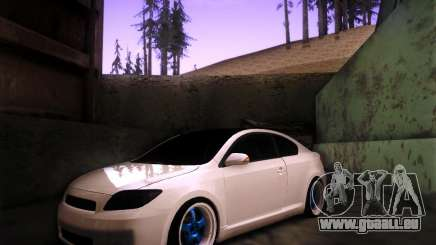 Scion tC Blue Meisters pour GTA San Andreas