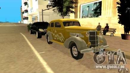 Ford DeLuxe Fordor Sedan V8 1938 pour GTA San Andreas