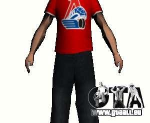 Journaliste de peau pour GTA San Andreas