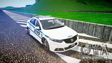 Honda Accord Type R NYPD (City Patrol 2322) ELS für GTA 4