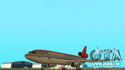 McDonell Douglas DC 10 Nortwest Airlines pour GTA San Andreas