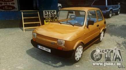 Fiat 126p FL Polski 1994 Wheels 2 pour GTA 4