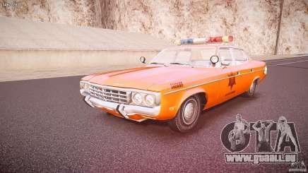 AMC Matador Hazzard County Sheriff [ELS] pour GTA 4