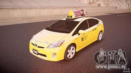 Toyota Prius LCC Taxi 2011 pour GTA 4