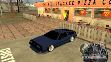 Delorean DMC-12 Drift für GTA San Andreas