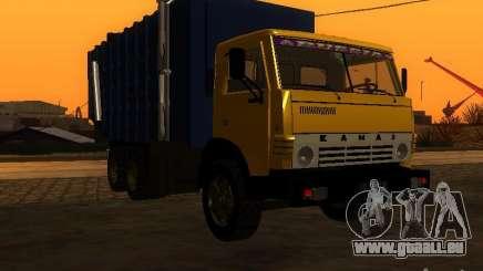Camion à ordures 53212 KAMAZ pour GTA San Andreas