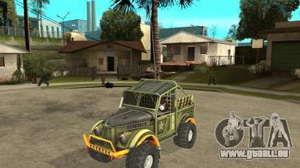GAZ 69 procès pour GTA San Andreas