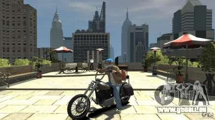Zombie Bike Paintjob für GTA 4