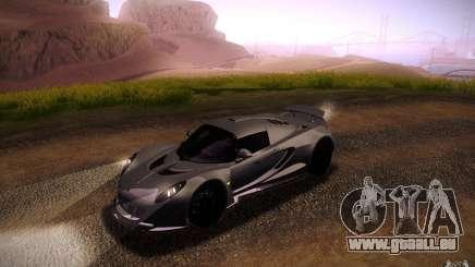 Hennessey Venom GT 2010 V1.0 für GTA San Andreas