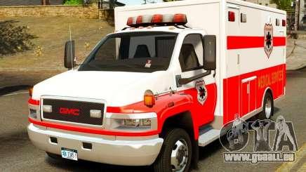 GMC C5500 Topkick Ambulance pour GTA 4