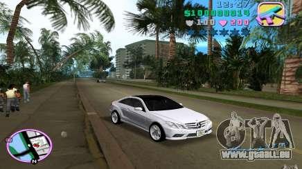 Mercedes-Benz E Class Coupe C207 pour GTA Vice City
