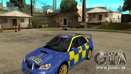 Subaru Impreza STi police pour GTA San Andreas