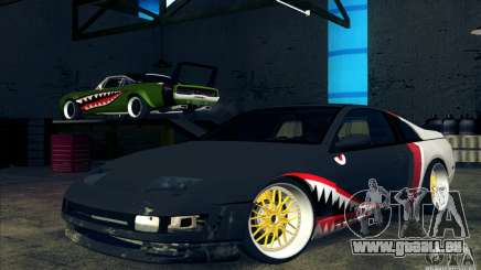 Nissan 300ZX Bad Shark pour GTA San Andreas