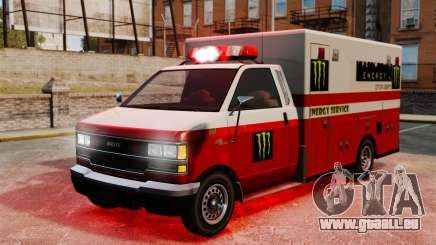 Secourisme Monster Energy pour GTA 4