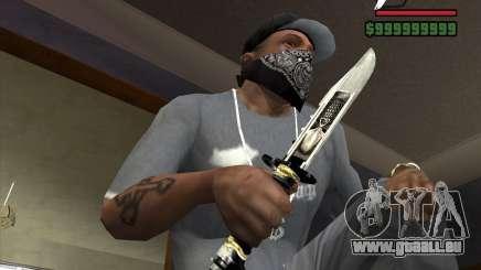 Das Messer von der Stalker Nr. 5 für GTA San Andreas