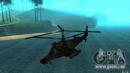 Kamov KA 50 Dlack Shark pour GTA San Andreas