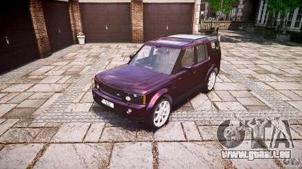 Land Rover Discovery 4 2011 für GTA 4
