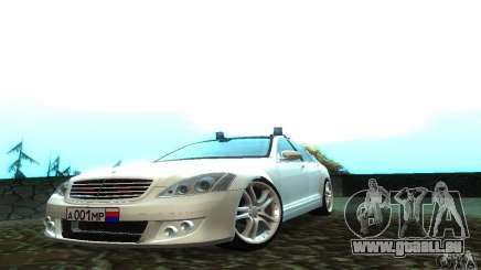 Mercedes-Benz S500 W221 Brabus für GTA San Andreas